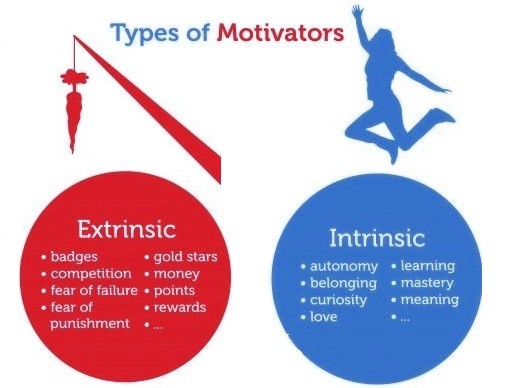 Extrinsic Vs Intrinsic Motivation kind of motivation would